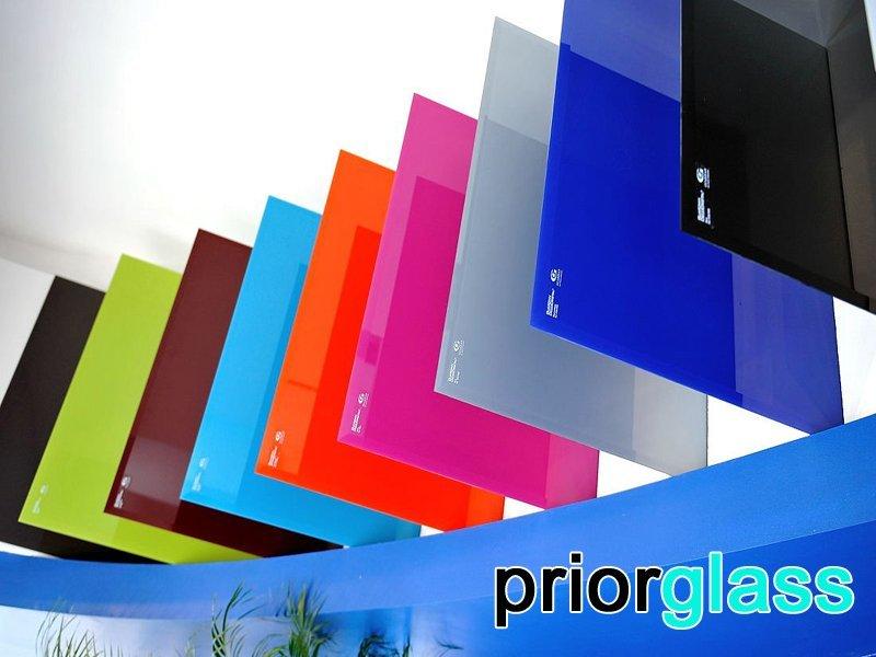 Цветные стекла Приоргласс - фото образцов
