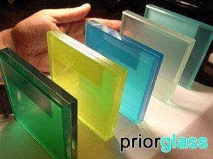 Образцы цветного стекла Приоргласс - фото