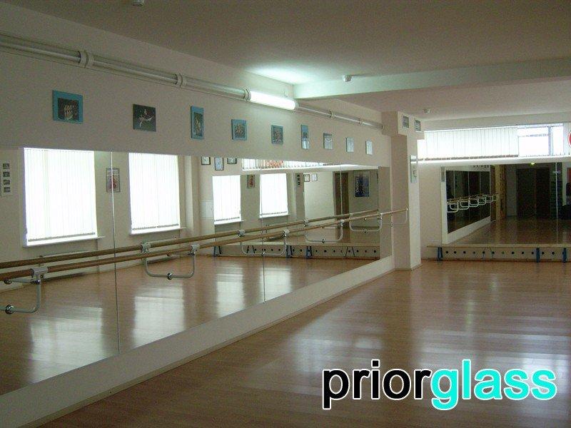 Зеркала для танцевальных залов фото №2