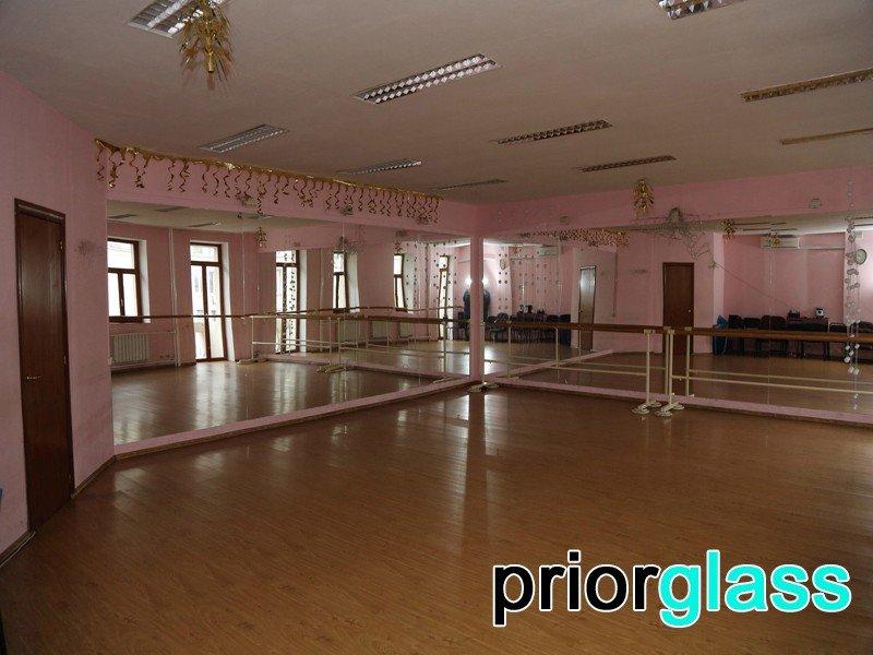 Зеркала для танцевальных залов фото №12
