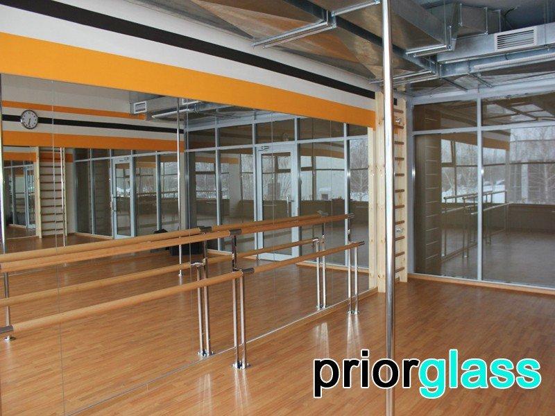 Зеркала для танцевальных залов фото №5