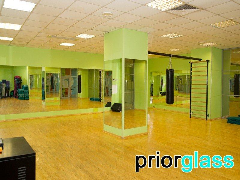 Зеркала для танцевальных залов фото №6