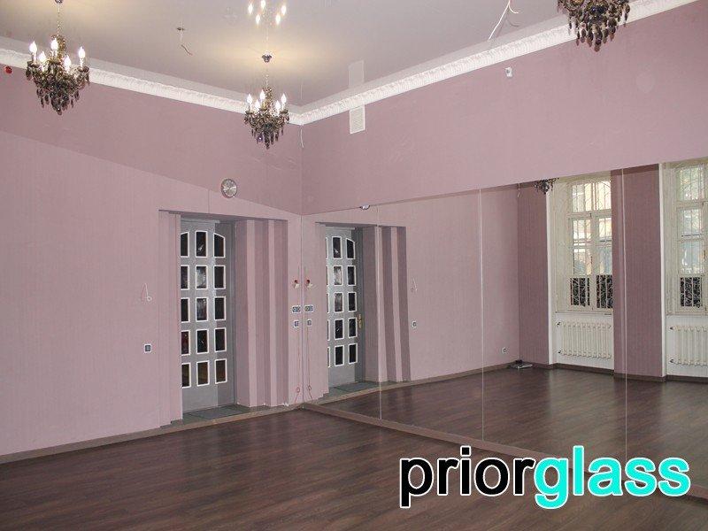 Зеркала для танцевальных залов фото №8