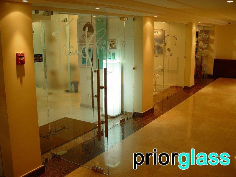 стеклянная дверь фото №10