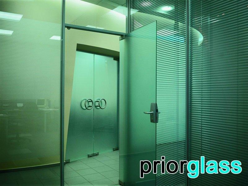 стеклянная дверь фото №5