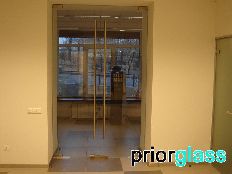 стеклянная дверь фото №6