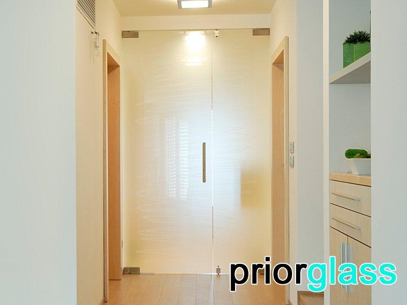 стеклянная дверь фото №7