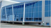 светопрозрачные конструкции из алюминиевого профиля для производственных и складских площадок