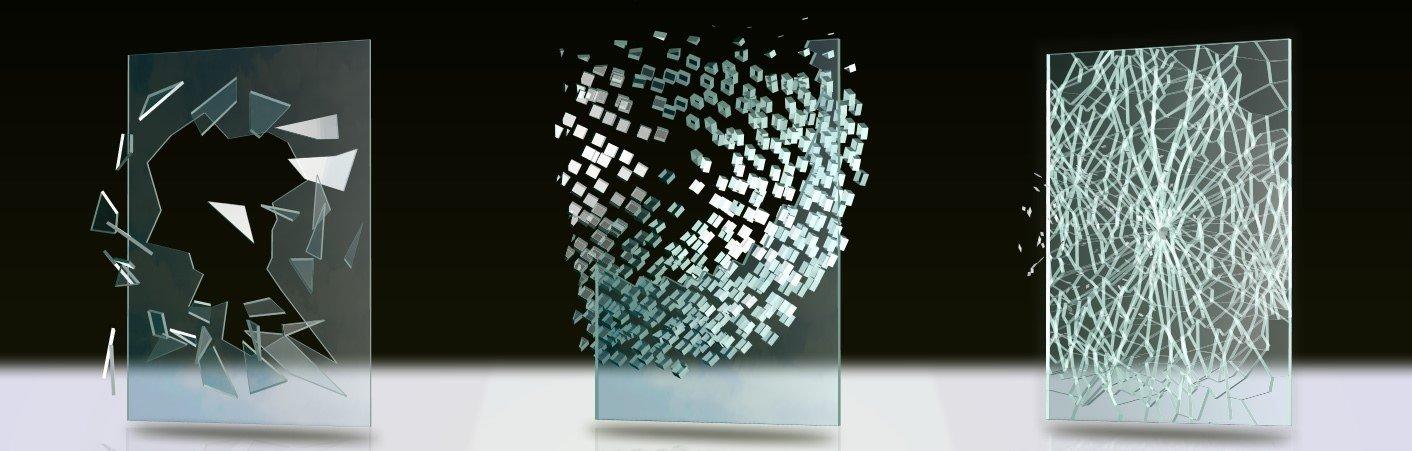 отличие обычного стекла от закаленного и триплекса